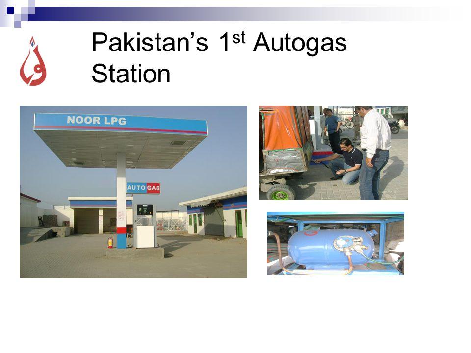 Pakistan's 1 st Autogas Station