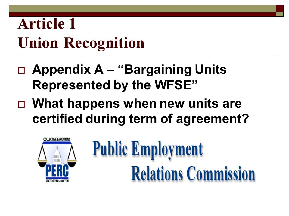 Article 25 Licensure and Certification  Current Practice or below, whichever is the greater benefit to the employee  Conditions of Employment Employee pays  Outside Entity Employer pays first time, then employee pays  Employer Convenience Employer pays
