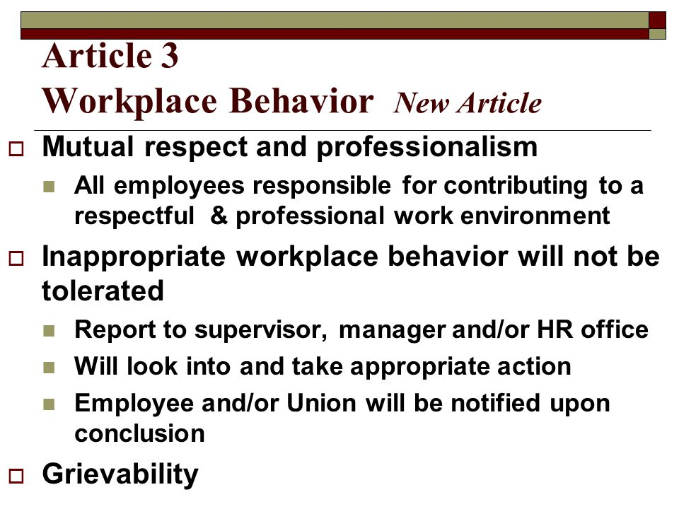 Article 4 Hiring and Appointments  Employer determines when to fill, type of appointment, skills & abilities  Positions posted at least 10 days, consider accessibility and geography  Will offer 2 transfer or voluntary demotion candidates an interview  Internal layoff register – Rule of 1 by seniority plus skills & abilities, except CWU