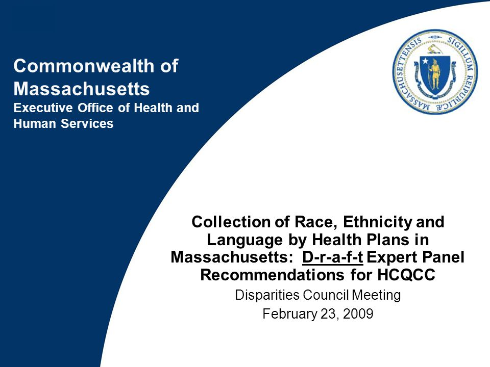 2 HCQCC charge to health plans: From HCQCC meeting on July 16, 2008: (1)The Maine Health Information Center (MHIC) will not reject health insurance carriers' data submissions because they are missing patient race and ethnicity data, until July 1, 2009.