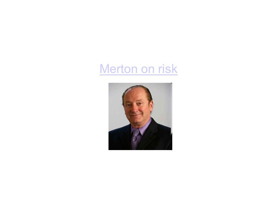 Merton on risk