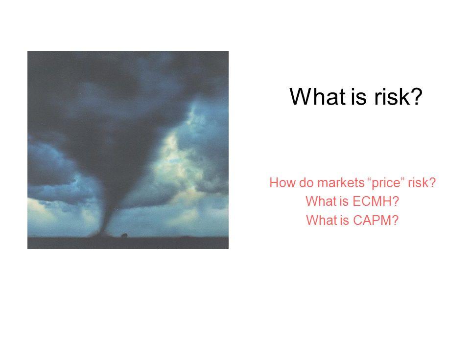 ECMH Market InformationPrice Ronald Gilson (Stanford) Reinier Kraakman (Harvard) Can you beat the market?