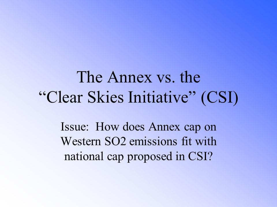 The Annex vs.