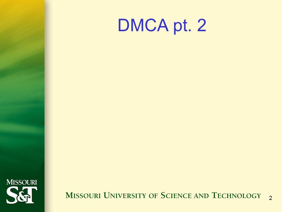 2 DMCA pt. 2