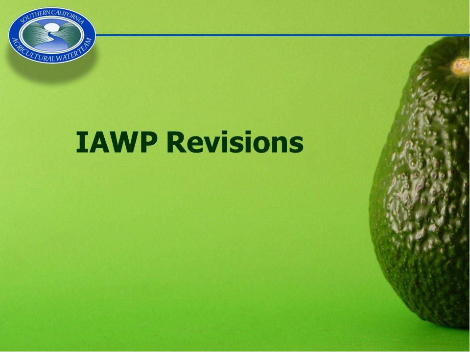 IAWP Revisions