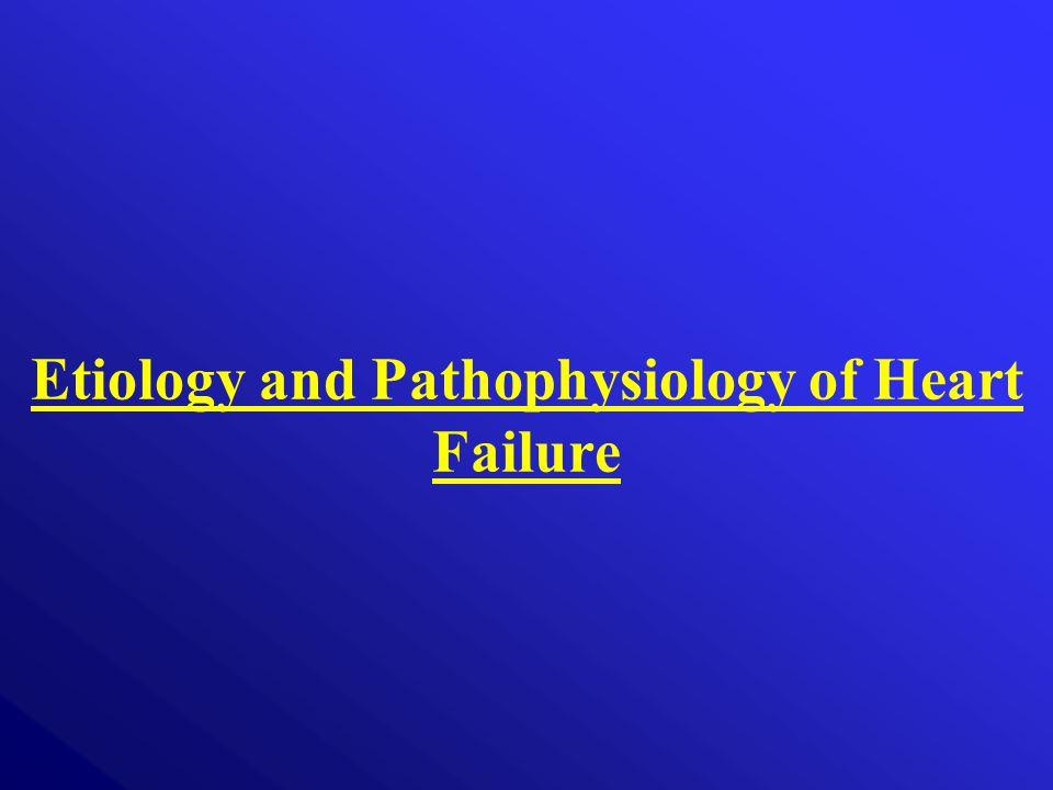 Etiology and Pathophysiology of Heart Failure