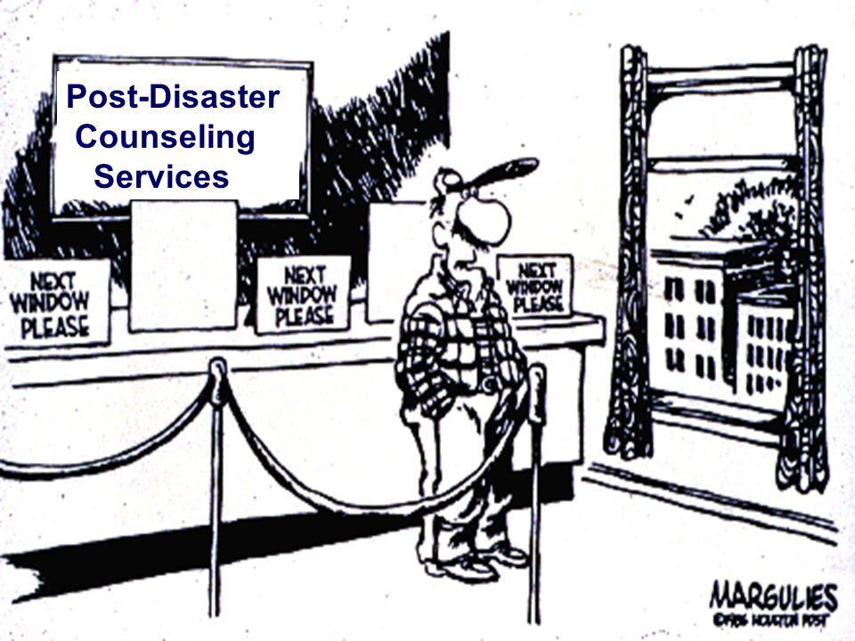 ® BDLS is a registered trademark of the American Medical Association V 2.9 04/07 ® 16 Post-Disaster Counseling Services
