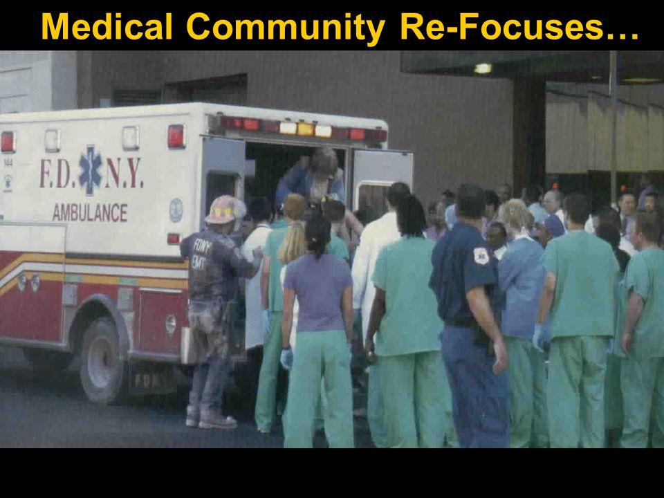 V 2.9 04/07 28 Medical Community Re-Focuses…