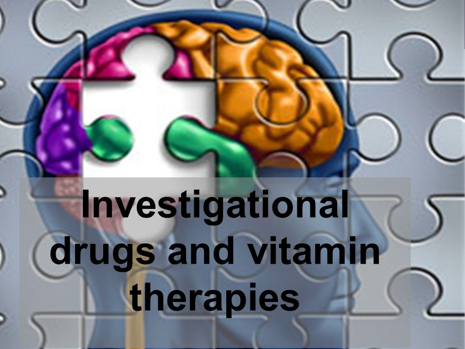 Investigational drugs and vitamin therapies