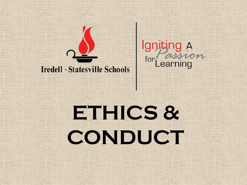 ETHICS & CONDUCT