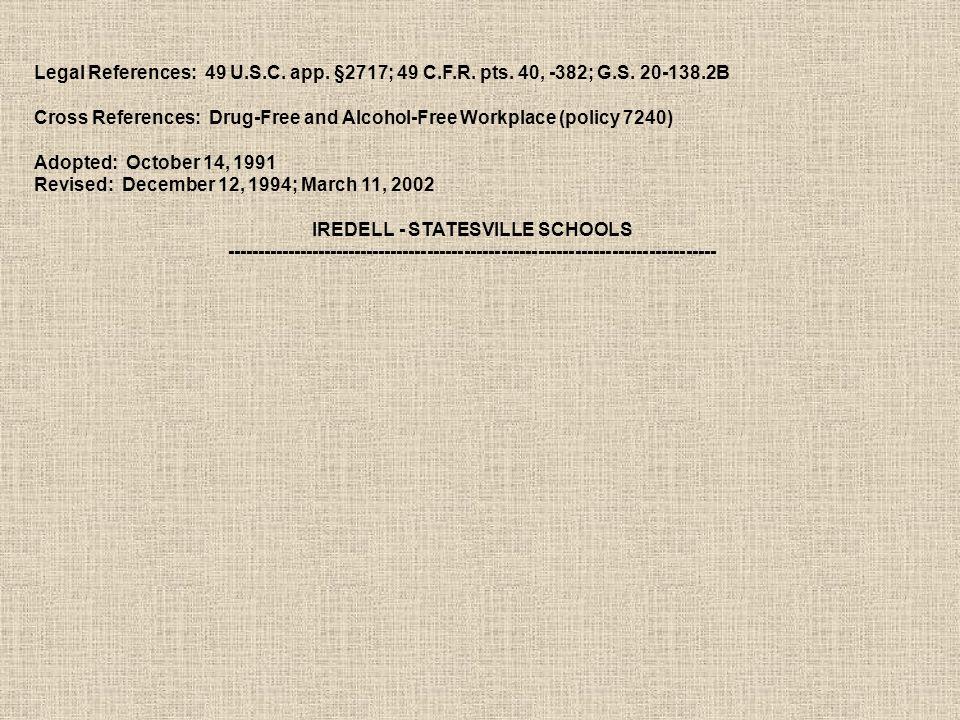 Legal References: 49 U.S.C. app. §2717; 49 C.F.R.