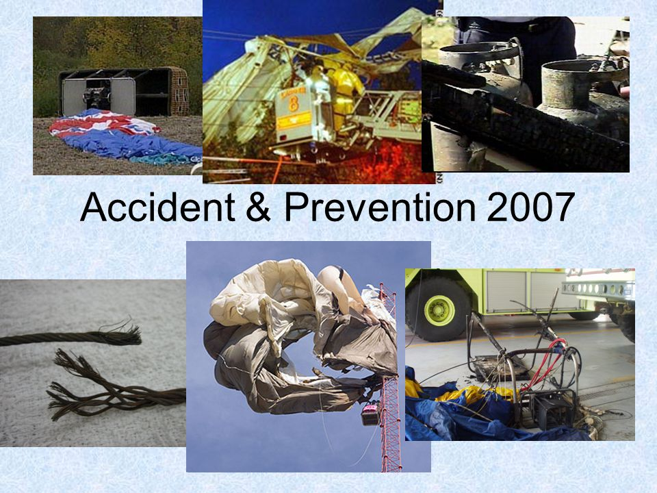 Accident & Prevention 2007