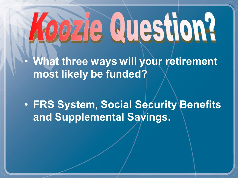 Provide employees with one of the key retirement components.
