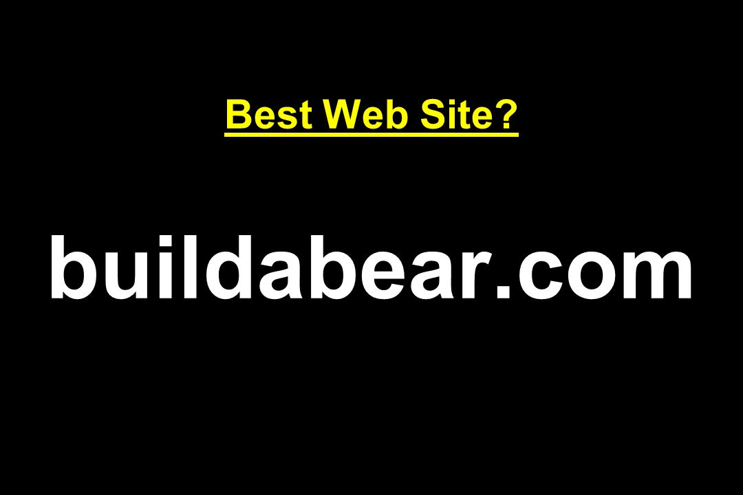 Best Web Site buildabear.com