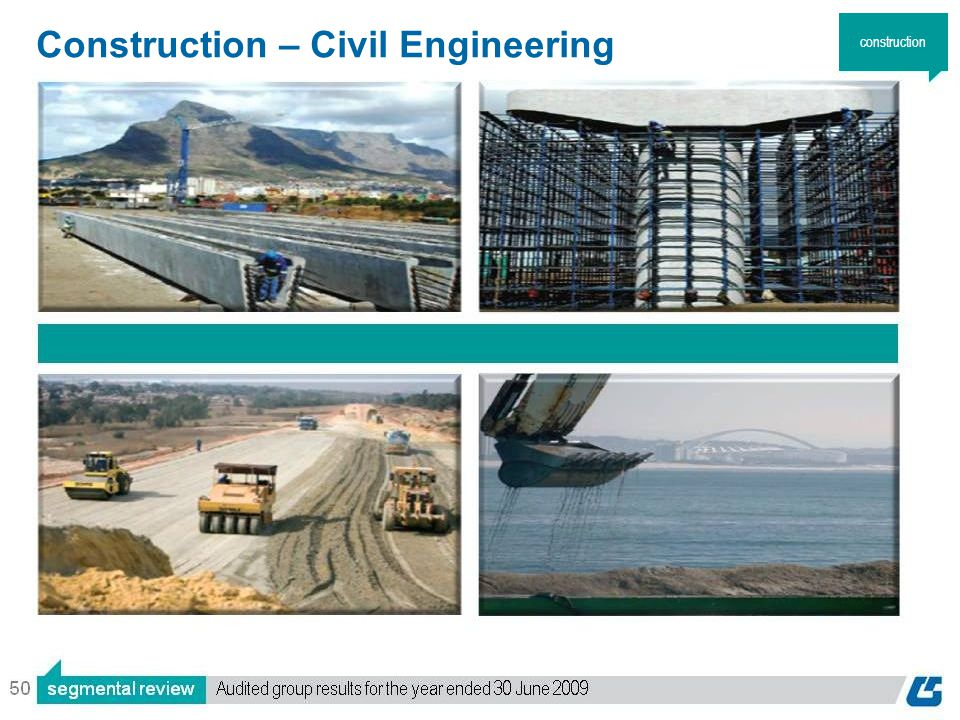 50 Construction – Civil Engineering construction