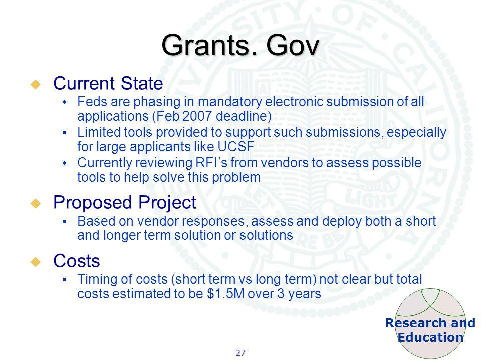 27 Grants.
