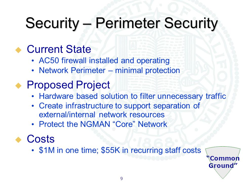 30 Online Faculty Appointment and Advancement  Current State Faculty promotion and advancement process now is a time and paper-intensive activity for a very critical and key process Most large institutions are developing automated document and work flow management solutions to support the process  Proposed Project First phase is to conduct a more detailed needs assessment Second phase (based on above assessment) would be to deploy best fit solution  Costs $75K in year one for needs assessment and planning; total costs estimated to be $1.1M over three years Research and Education