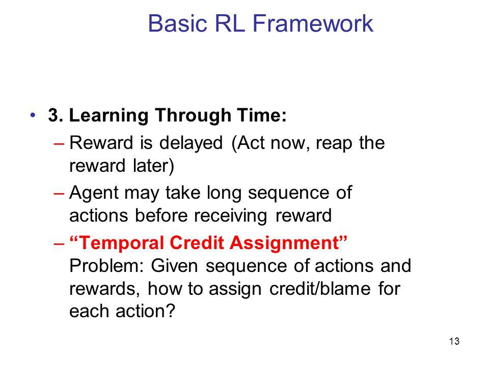 13 Basic RL Framework 3.