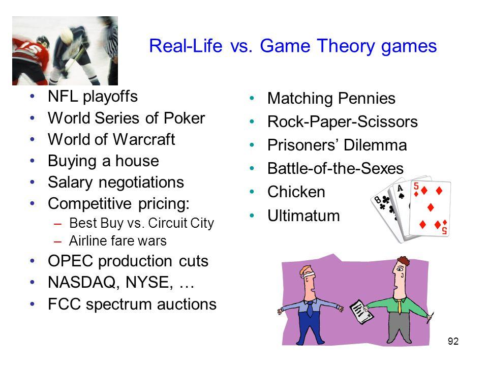 92 Real-Life vs.