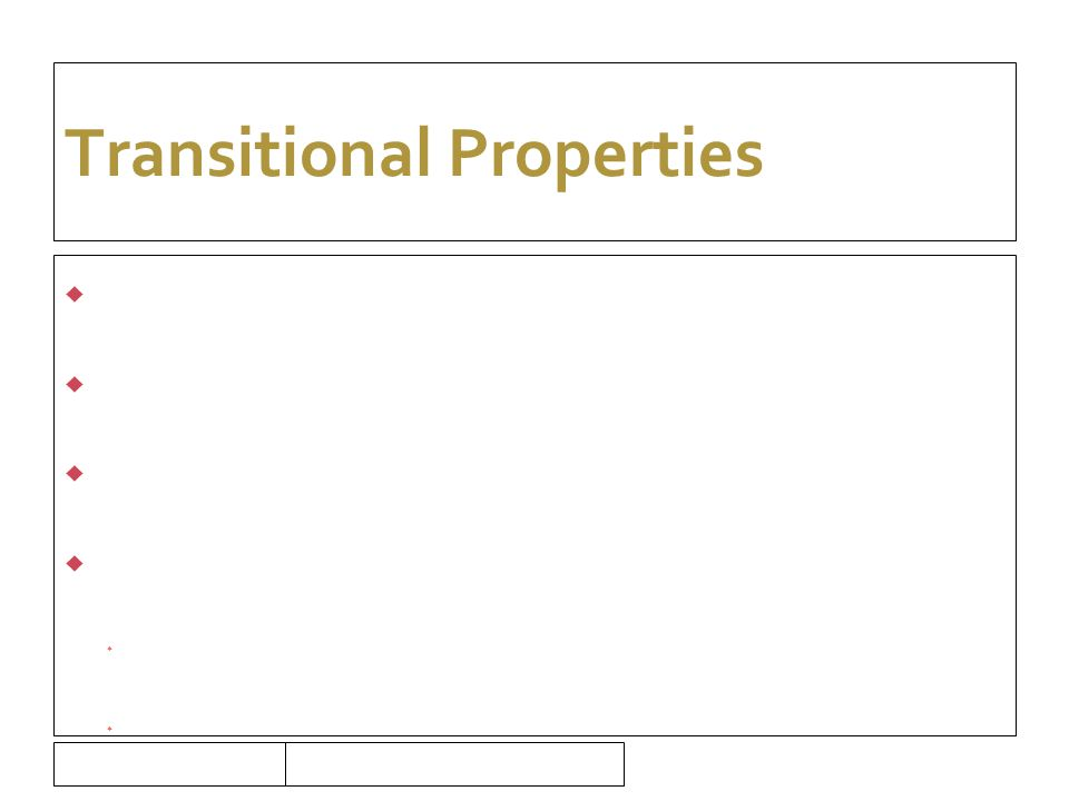 16/09/10 Transitional Properties  Property in existence prior to July 2008  Sale – possibly exempt  CGS  Legacy leases  Assignment or surrender  Taxable if entitled to recover VAT  Not taxable if not entitled to recover VAT  Option to tax