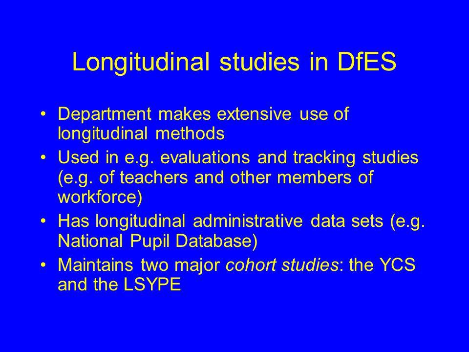 DfES Longitudinal Studies of Young People Iain Noble Strategic Analysis, DfES iain.noble@dfes.gsi.gov.uk