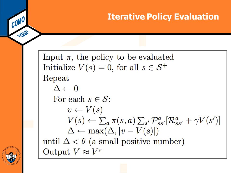 Computational Modeling Lab Iterative Policy Evaluation