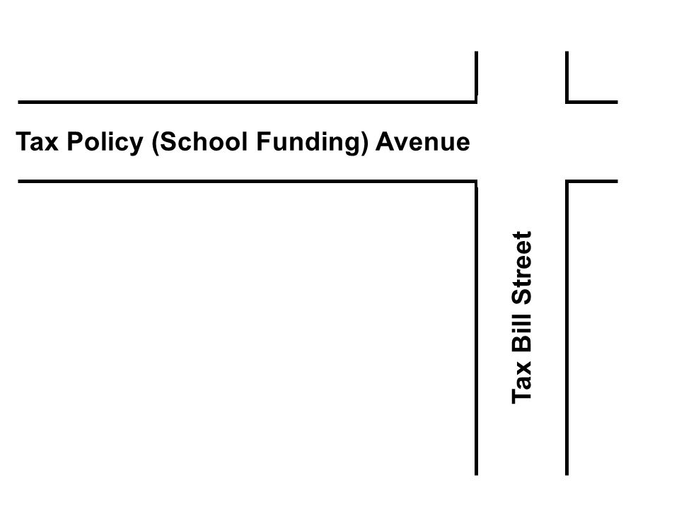 Tax Policy (School Funding) Avenue Tax Bill Street