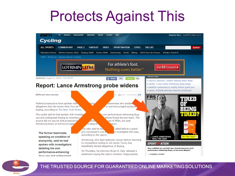 THE TRUSTED SOURCE FOR GUARANTEED ONLINE MARKETING SOLUTIONS  Protects Against This