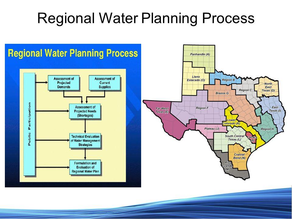 Regional Water Planning Process