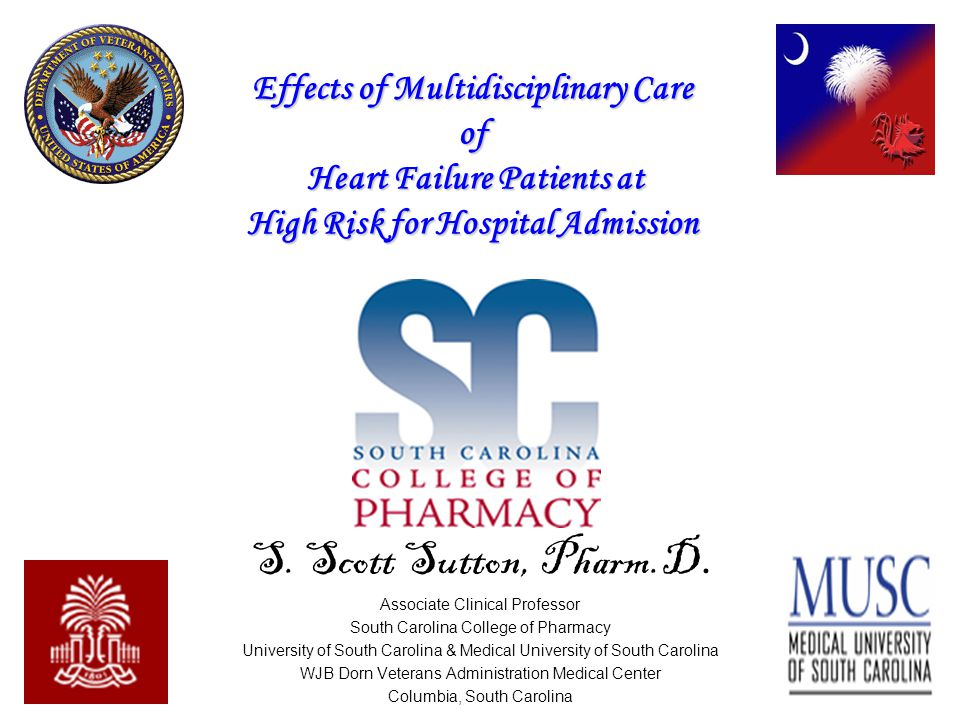 AHFP HF Patients NYHA Class III/IV or AHA Class C/D Enroll in HF Clinic Initial Visit Every 2 Weeks for 2 Months, Then Monthly Thereafter Patient Monitoring Weight Blood Pressure Peak Flow Daily symptoms Clinic Monitoring Labs BNP ICG PRN Infusion Clinic Episodic Management in Clinic Emergency Department/ Readmission