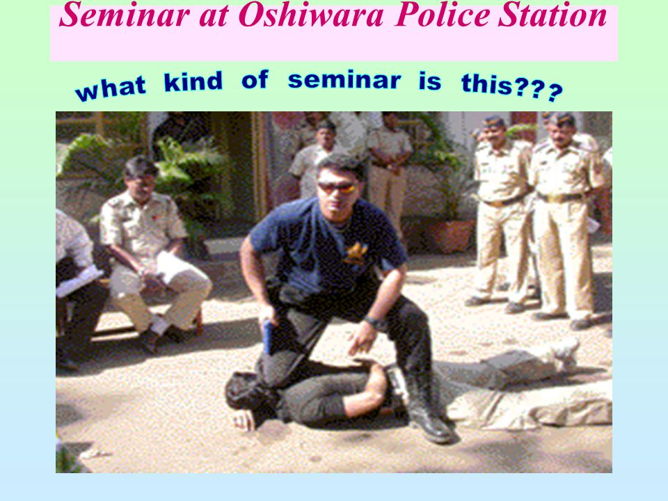 15 Seminar at Oshiwara Police Station