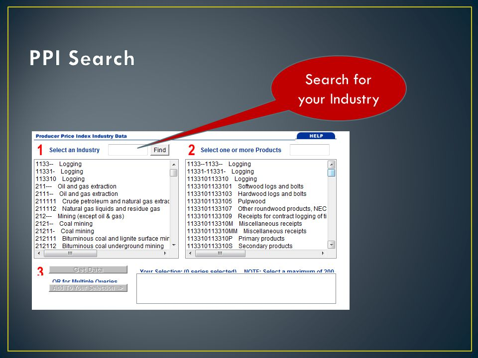 Search for your Industry