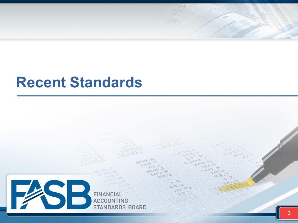 Recent Standards 3