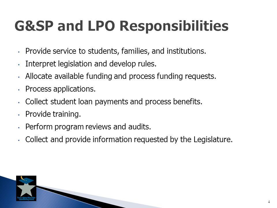 1.Legislature passes a statute authorizing a program.