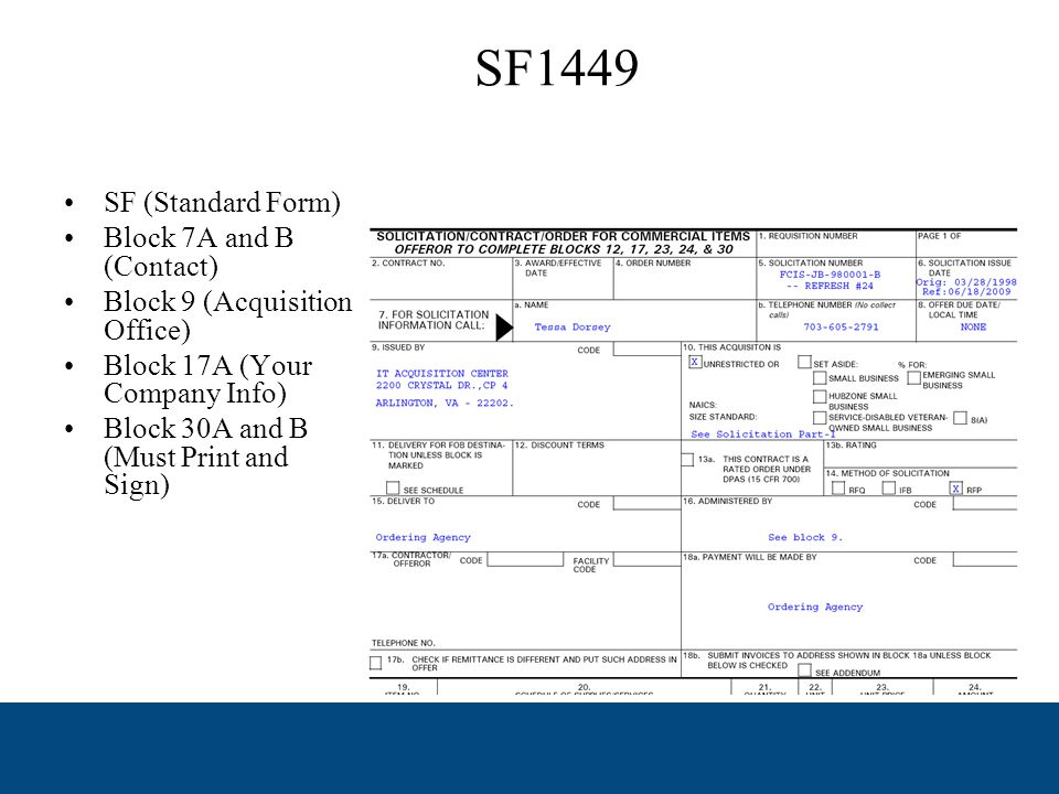 Vendor Response Document Offeror information Authorized Negotiators