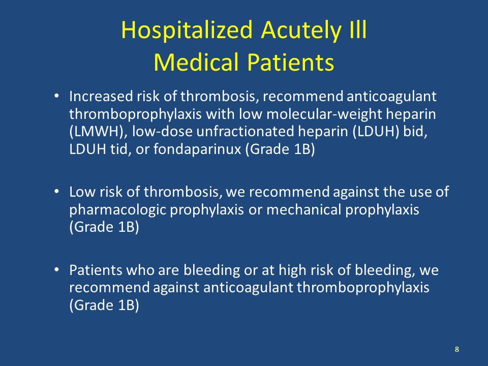 Dabigatran Oral anticoagulation Suggest dabigatran 150 mg bid rather than adjusted-dose vitamin K antagonist therapy 39 You, JJ et al.