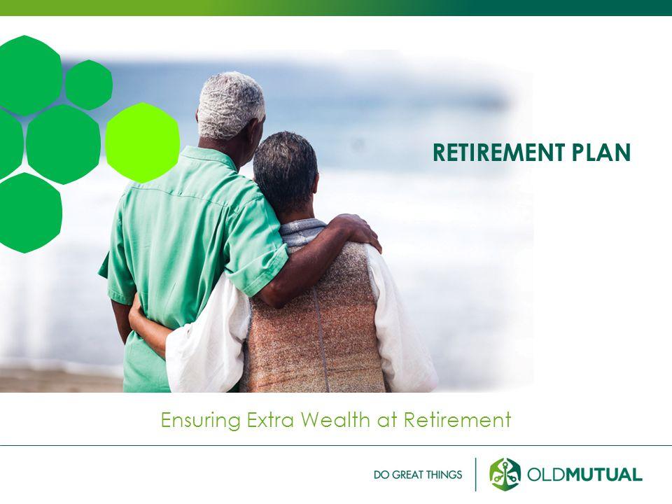 RETIREMENT PLAN Ensuring Extra Wealth at Retirement