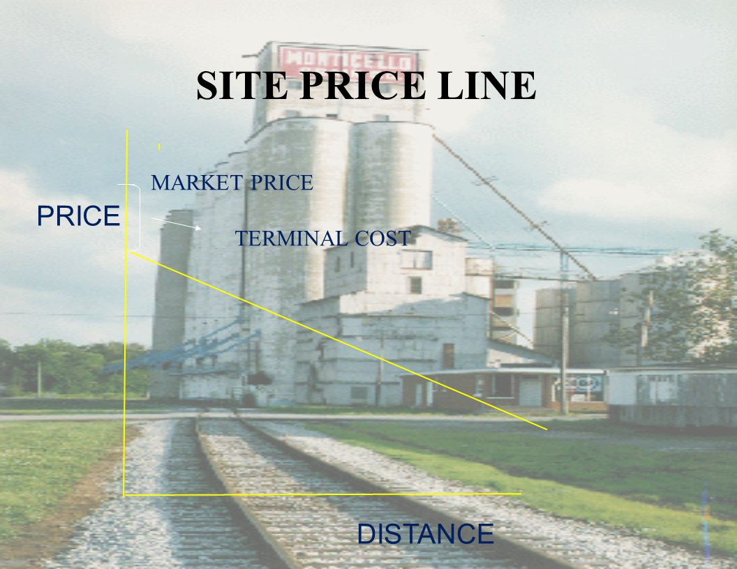 SITE PRICE LINE PRICE DISTANCE MARKET PRICE TERMINAL COST