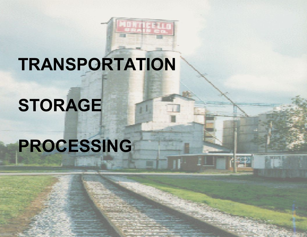 TRANSPORTATION STORAGE PROCESSING