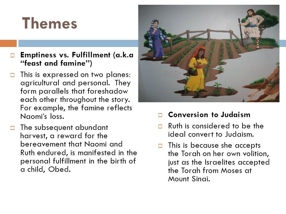 Themes  Emptiness vs.