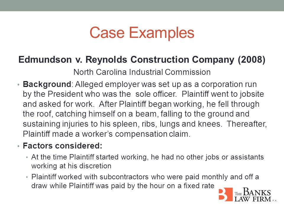 Case Examples Edmundson v.