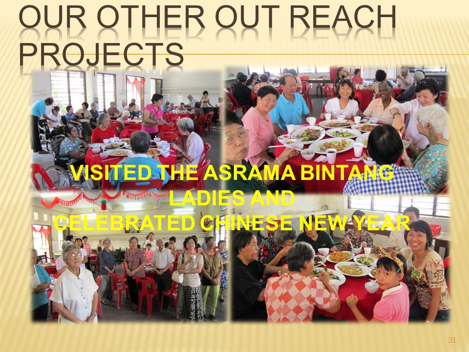 VISITED THE ASRAMA BINTANG LADIES AND CELEBRATED CHINESE NEW YEAR 21