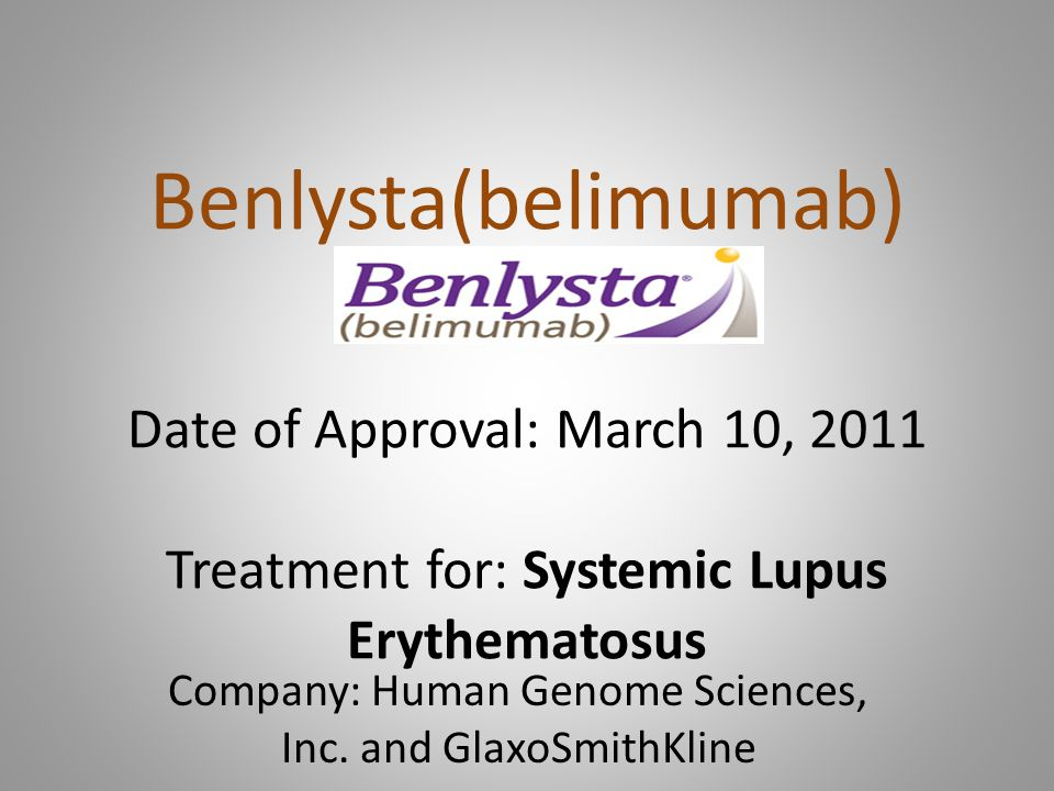 In my view, Benlysta's benefits appear to be marginal and even questionable for patients.