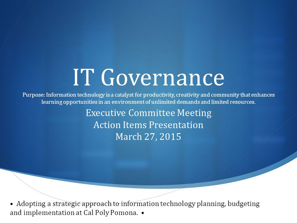 Emerging Technology Working Group Presenters: Gabriel Kuri