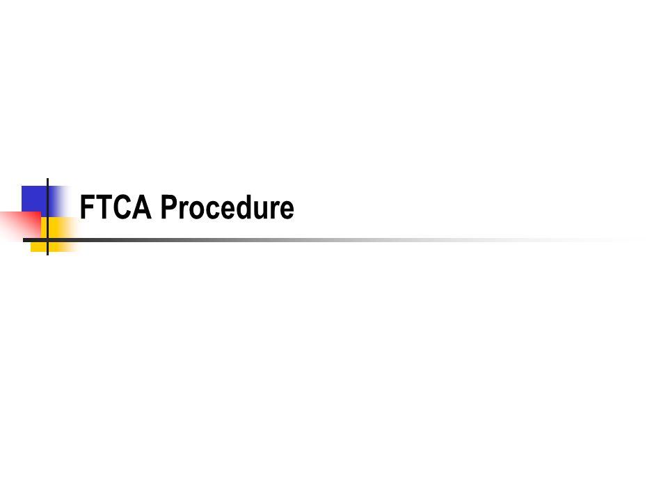 FTCA Procedure