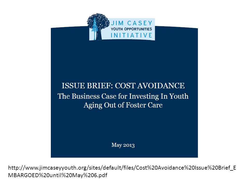 http://www.jimcaseyyouth.org/sites/default/files/Cost%20Avoidance%20Issue%20Brief_E MBARGOED%20until%20May%206.pdf