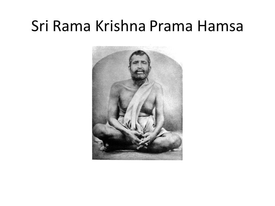Sri Rama Krishna Prama Hamsa