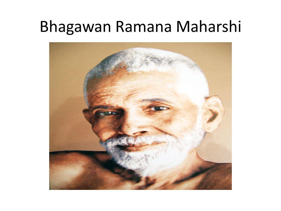 Bhagawan Ramana Maharshi