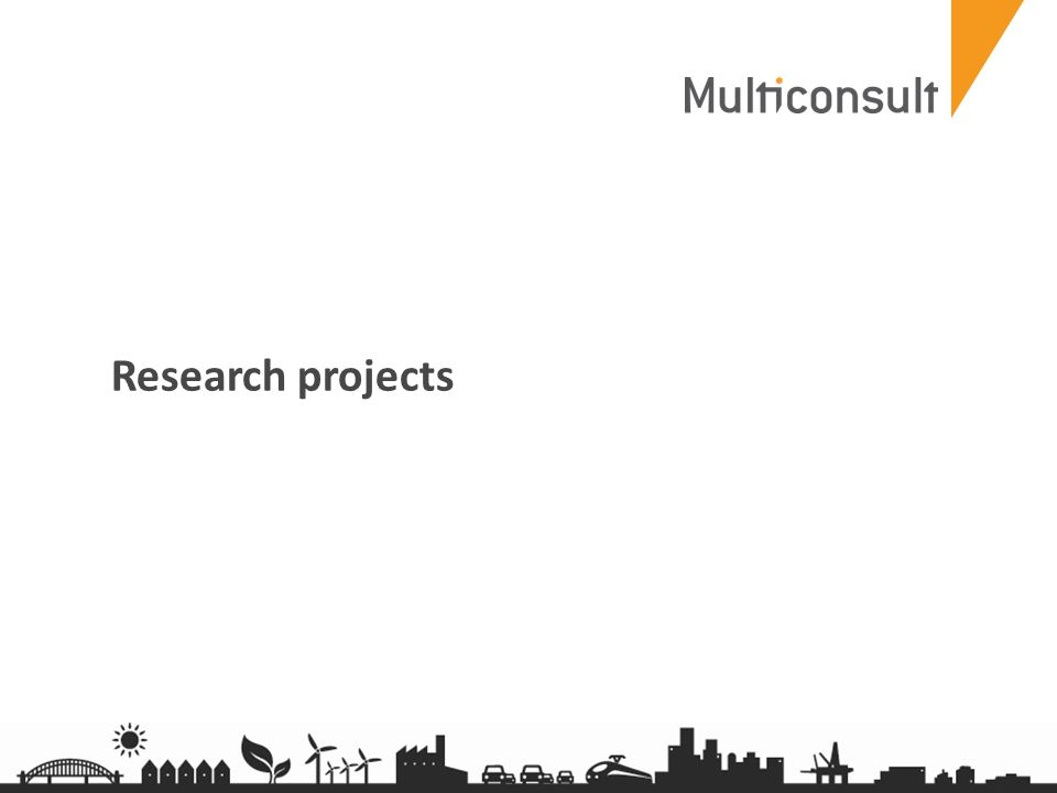 multiconsult.no Research projects