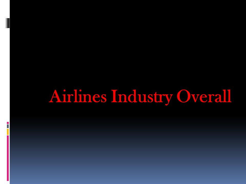 Airlines Industry Overall